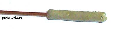 Основание нагревателя с изолирующим покрытием