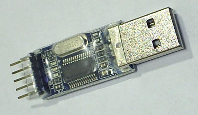 Фото1 конвертера USB-RS232TTL без корпуса